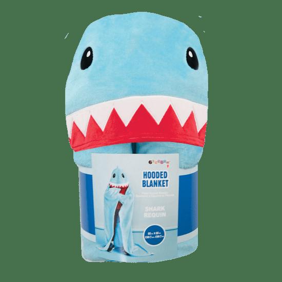 Hooded Blanket - Shark