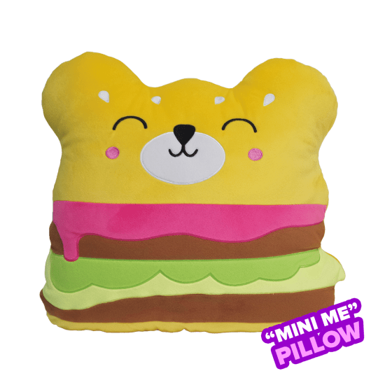 Pillow - Scented Mini Bear Burger