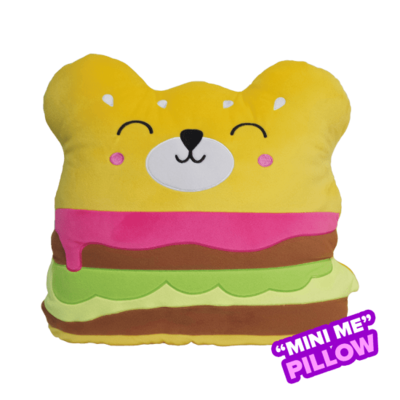 Pillow - Scented Mini Bear Burger