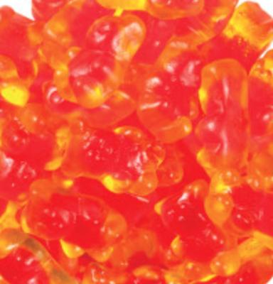 Juicy Filled Gummy Bear -- 1/4 pound