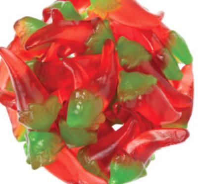 Chili Pepper Gummy -- 1/4 pound