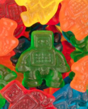 Robot Gummy -- 1/4 pound