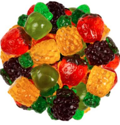 Gummy Fruit -- 1/4 pound