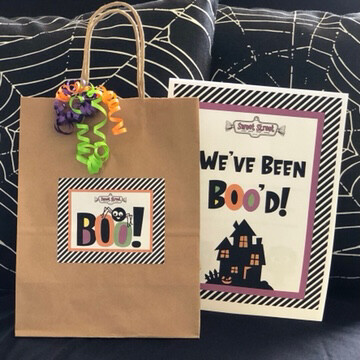 Boo Bags--Set of 2