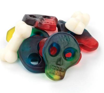 Gummy Skull and Bones -- 1/2 pound