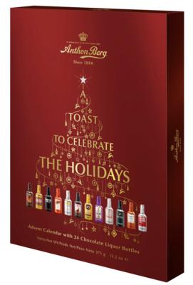 Anthon Berg Chocolate Liquor Bottles Advent Calendar