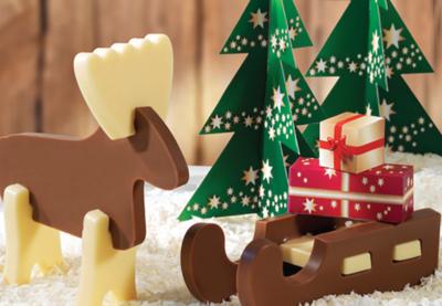 Belgian Chocolate Reindeer Kit