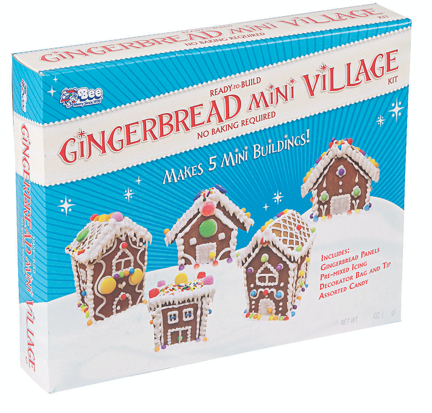 Miniature Village Gingerbread Kit