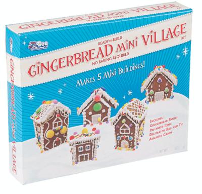 Miniature Village Gingerbread Kit
