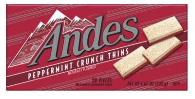 Andes Peppermint Crunch Theater Box