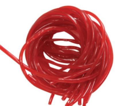Strawberry licorice laces -- 1/4 lb
