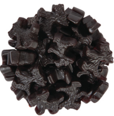 Licorice Black Scottie Dog -- 1/4 lb