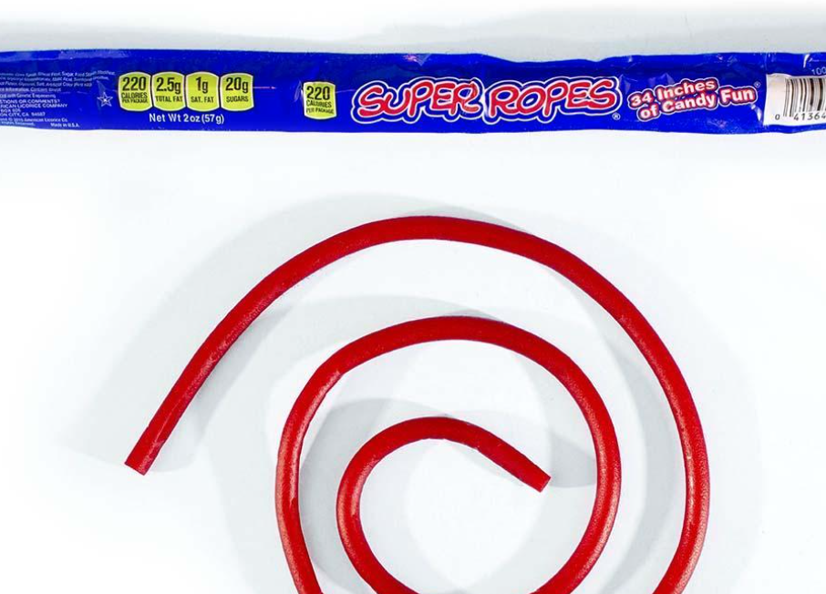 Super Ropes Red Licorice