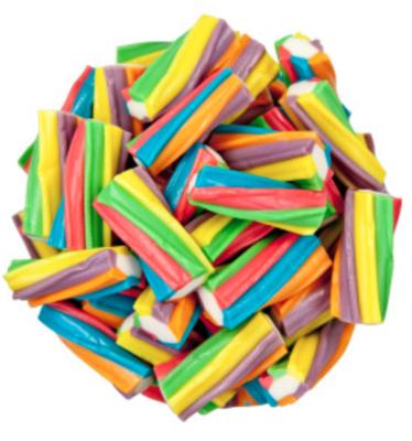 Rainbow Twisted Licorice -- 1/4 lb