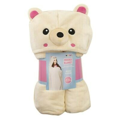 Hooded Blanket - Bear