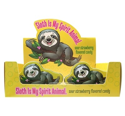 Boston America - Sloth Sour Strawberry Candy