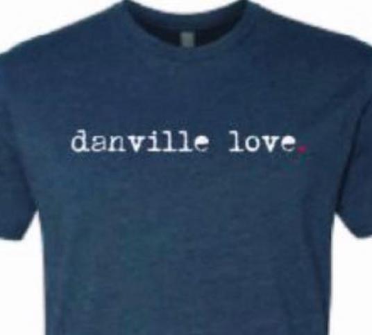 Danville Love T-Shirt - Blue