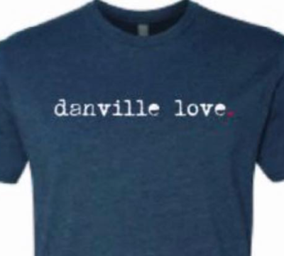 Danville Love T-Shirt - Blue