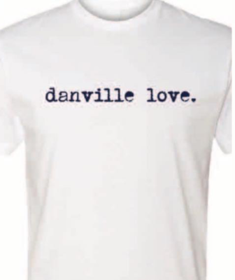 Danville Love T-Shirt - White