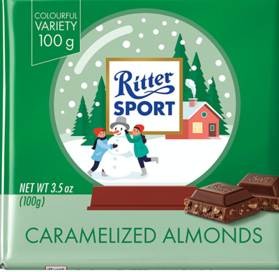 Ritter Sport - Caramelized Almonds