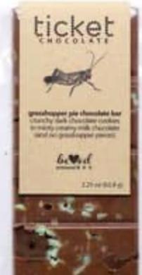 Ticket Chocolate Bar - Grasshopper Pie