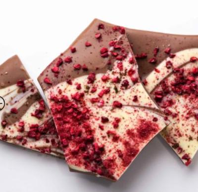 Ticket Chocolate Bark - Raspberry Vanilla