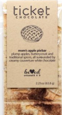 Ticket Chocolate Bar - Mom's Apple Pie