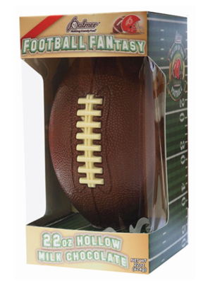 Giant Football Fantasy Chocolate
