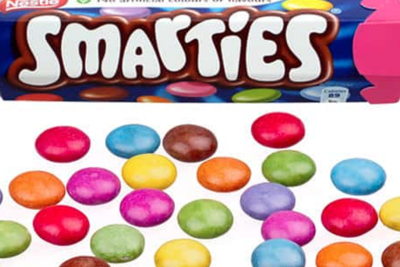 Smarties British Hexatube