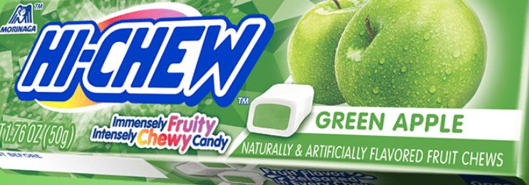 Hi Chew - Fruit Chew Stick, Green Apple