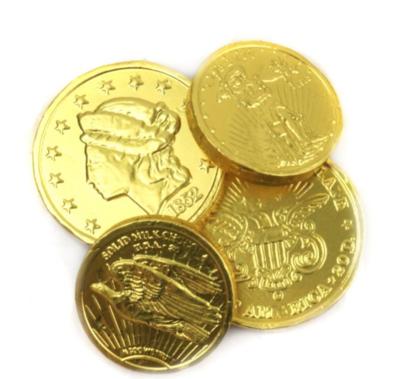 Chocolate Coins -- 1/2 pound