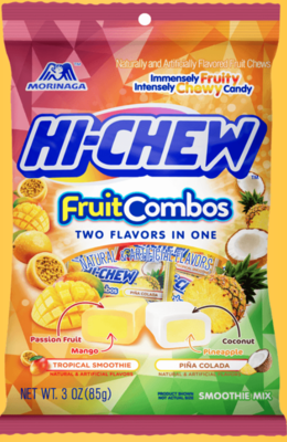 Hi Chew - Fruit Chew Bag, Fruit Combos