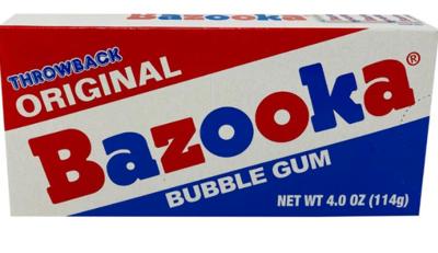 Bazooka Gum - Original & Blue Razz