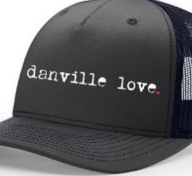 Danville Love Trucker Hats