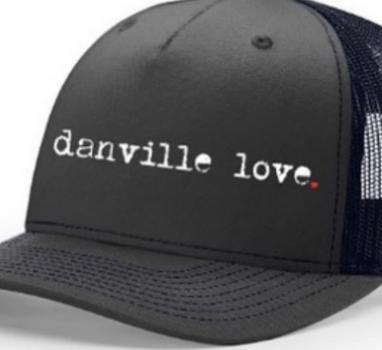 Danville Love Trucker Hats