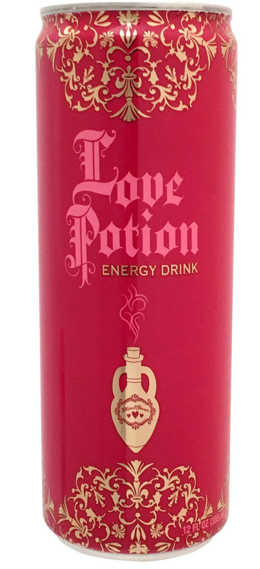Love Potion Energy Drink
