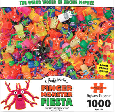 Puzzle - Finger Monster Fiesta