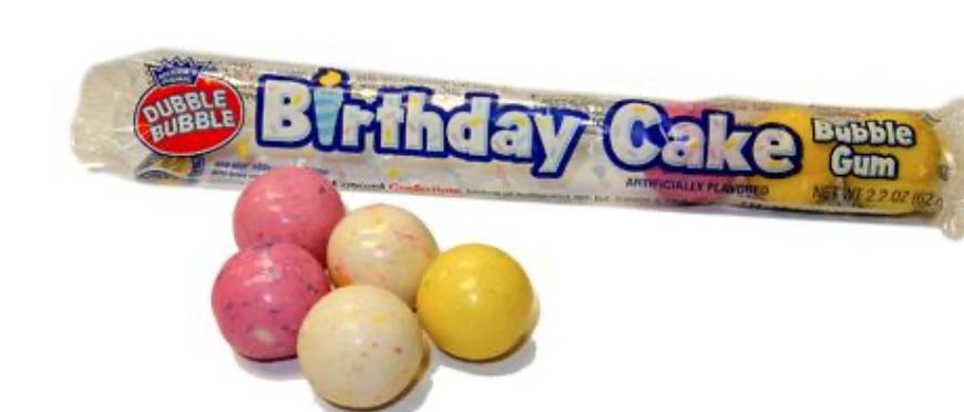 Dubble Bubble - Birthday Cake