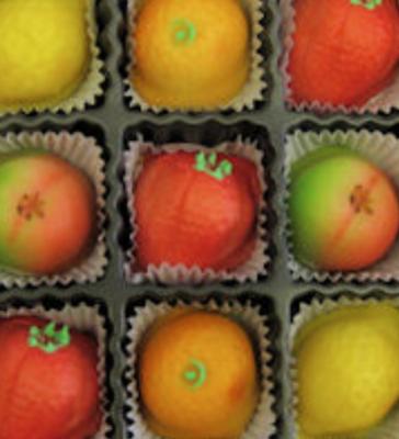 Marzipan Fruit -- 1/4 lb