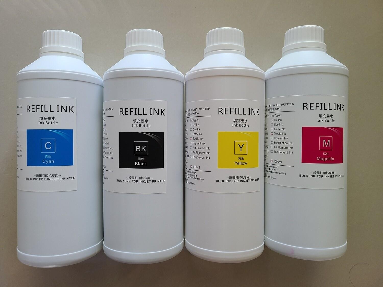 CMYK DTG Ink 4 Liter Set Special