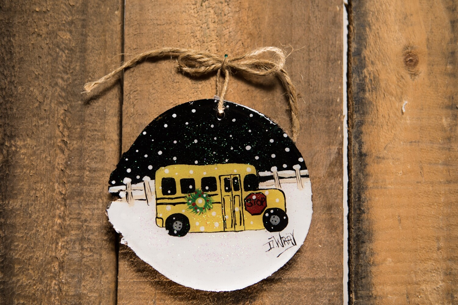 Wood Cookie Ornament