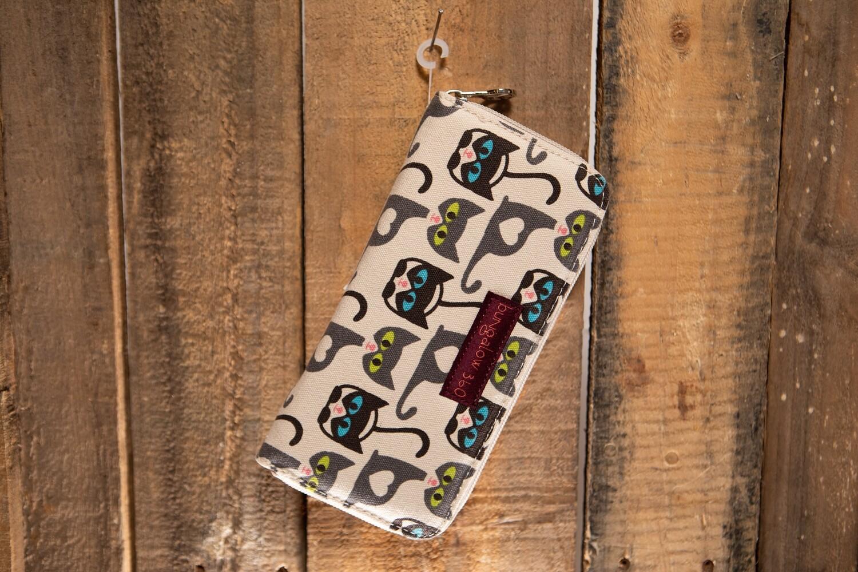 Bungalow 360 Zip Wallet Cat