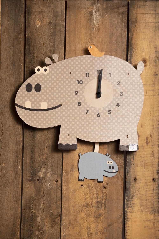 Hippo Pendulum Clock - PEN074