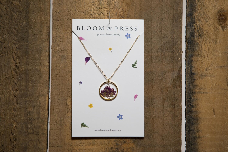 Bloom and Press Flowering Oregano- Gold