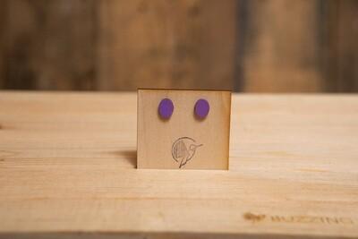 WOLP Wooden Oval Light Purple