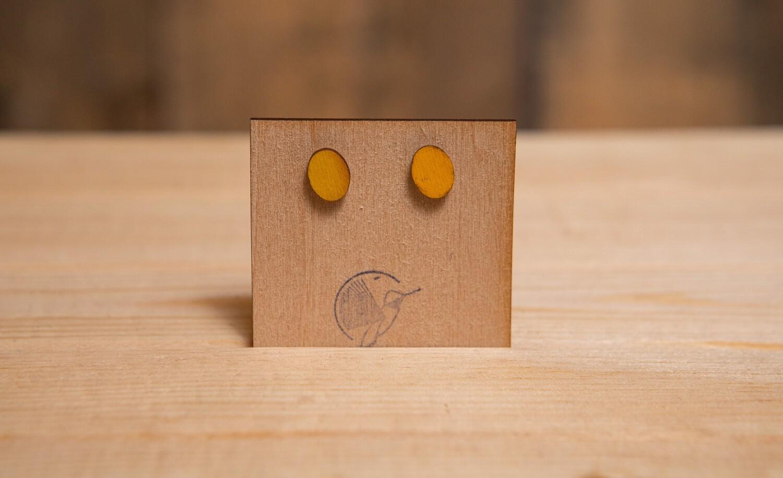 BBWOM Wooden Oval Mustard