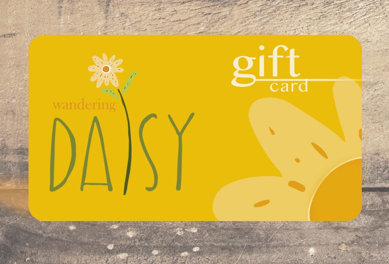 Wandering Daisy Gift Card