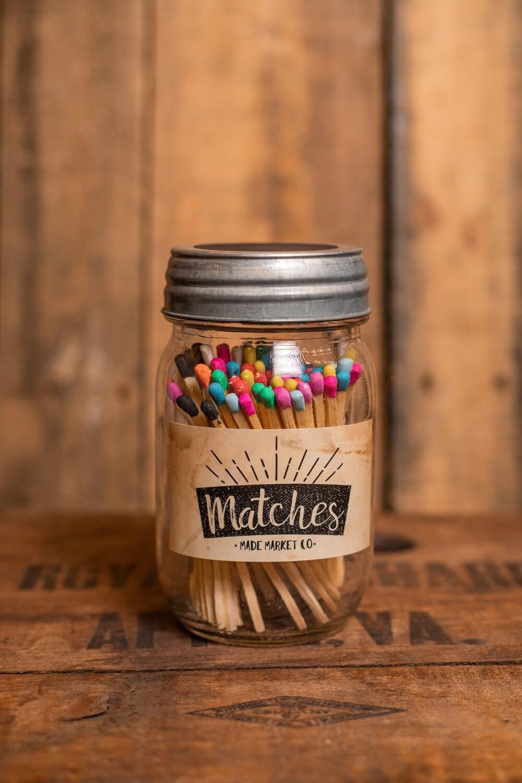 Variety Mason Jar Matches
