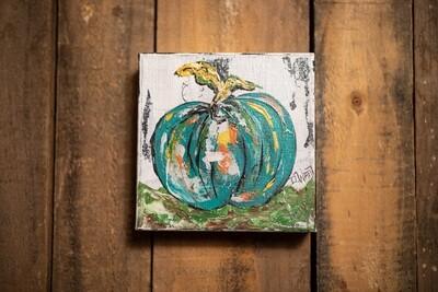 DW4 Pumpkin #1 Blue 6*6