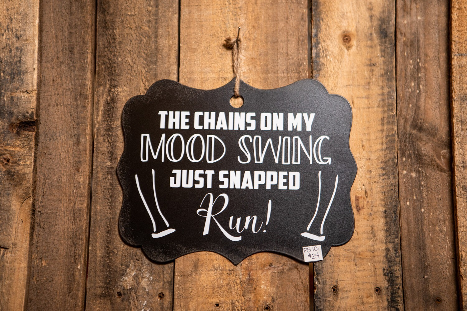 PS1C sign Mood Swings Sign